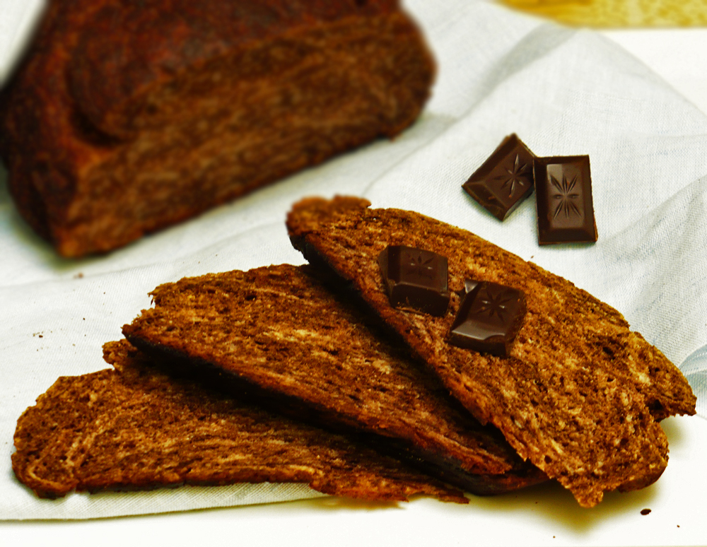 Chlebek czekoladowy
