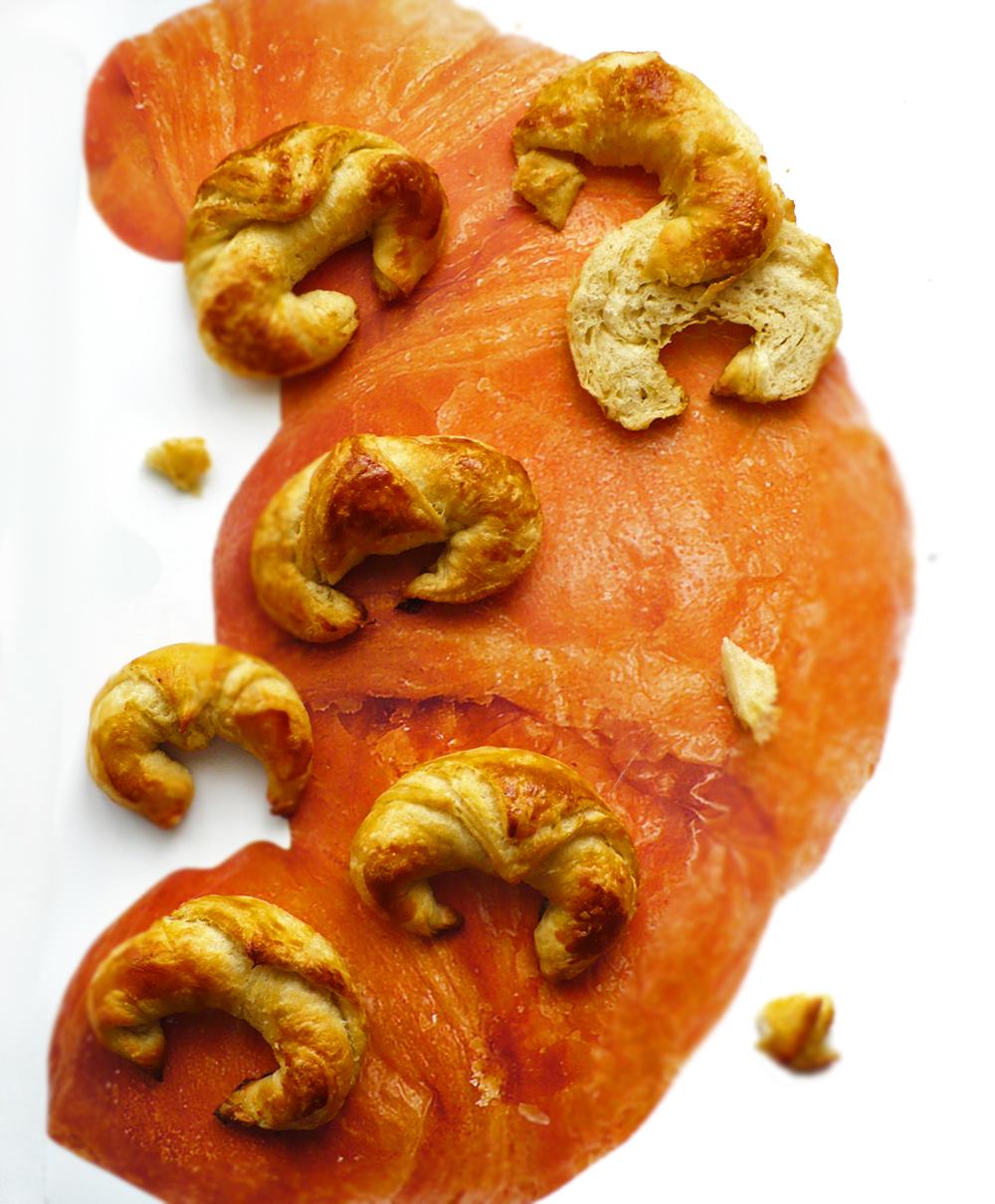 Croissanty z domowego ciasta francuskiego