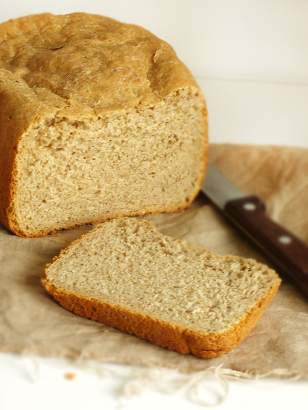 Chleb pełnoziarnisty z automatu