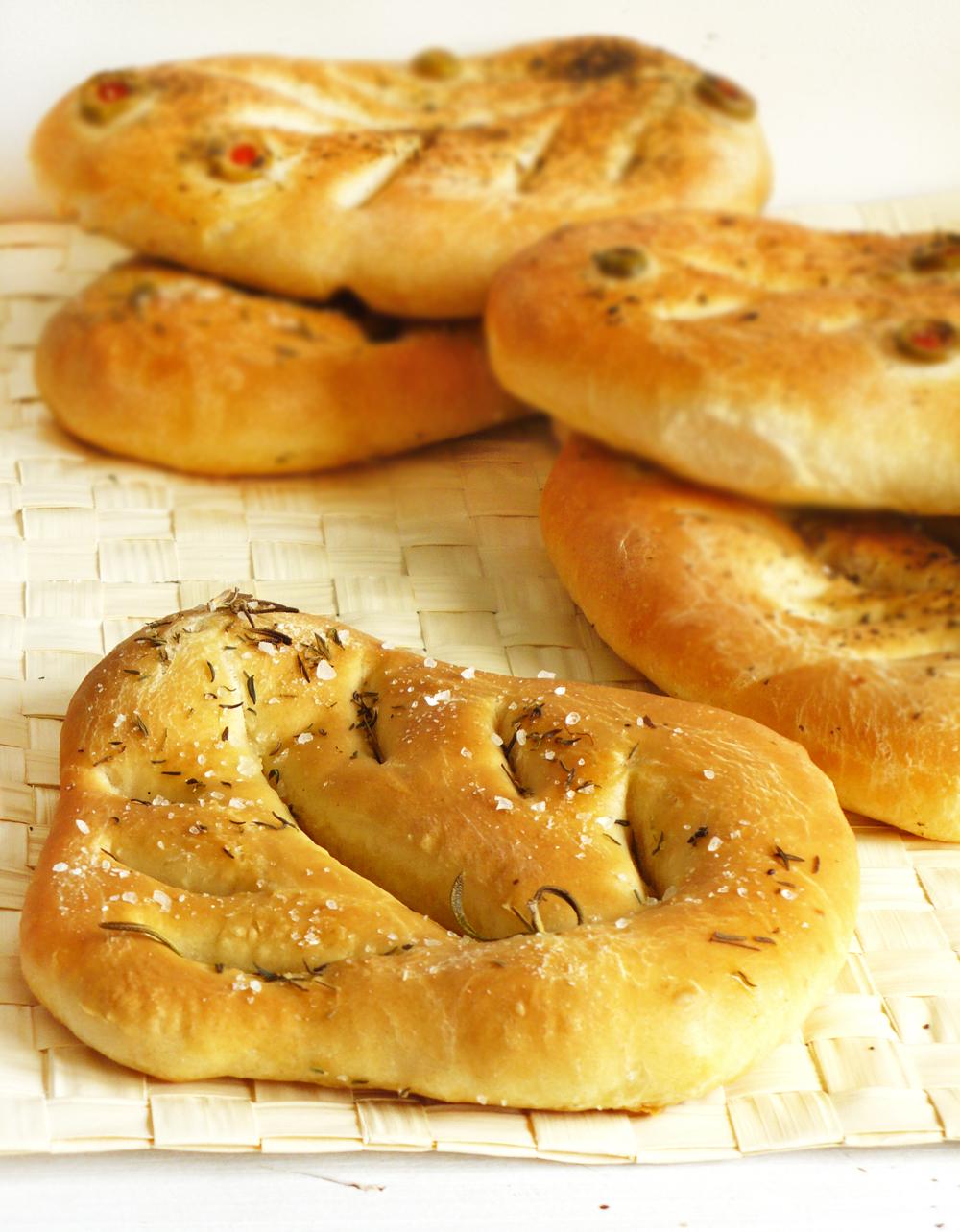 Fougasse - chleb w kształcie liścia z Prowansji