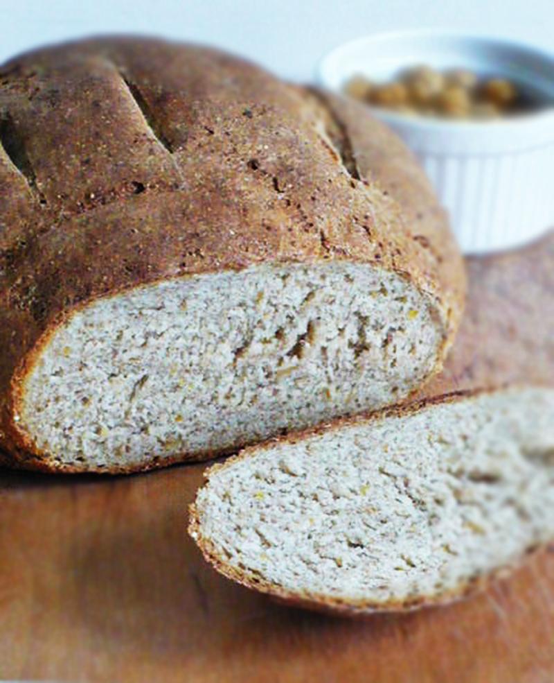 Chleb z ciecierzycą