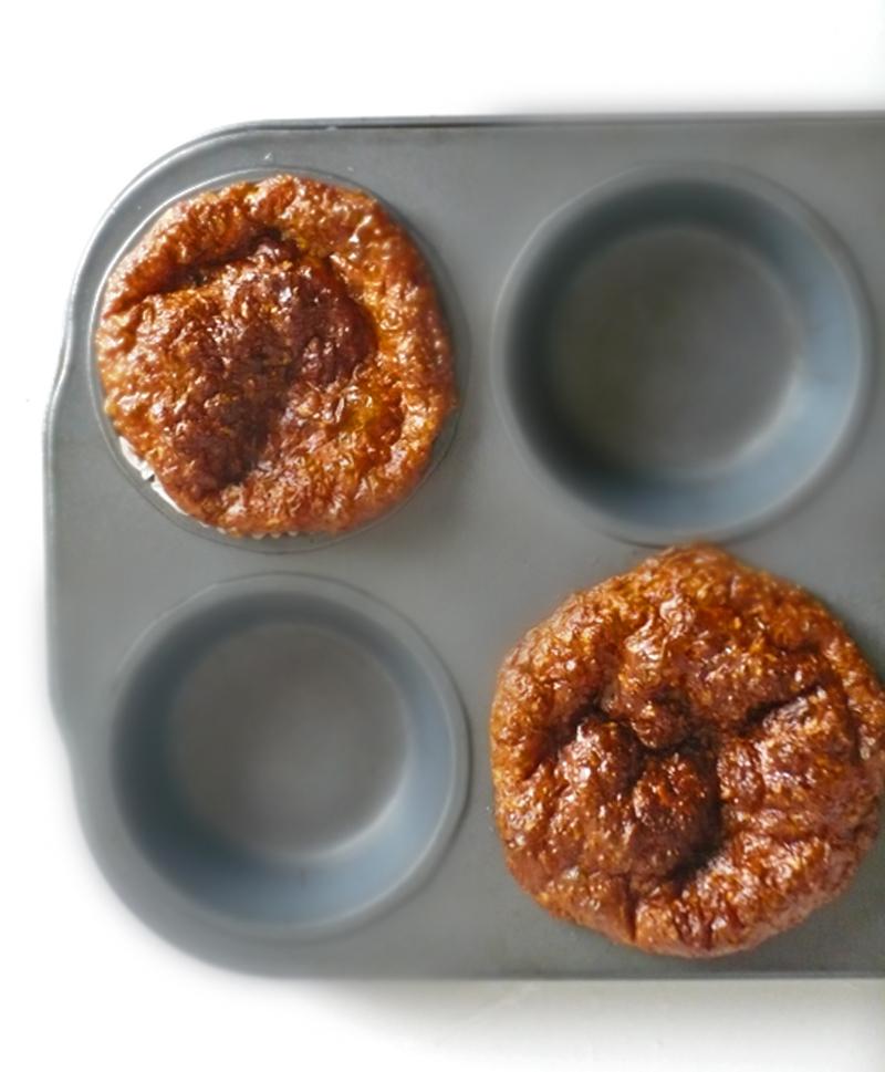 Bułeczki Dukana z formy na muffiny