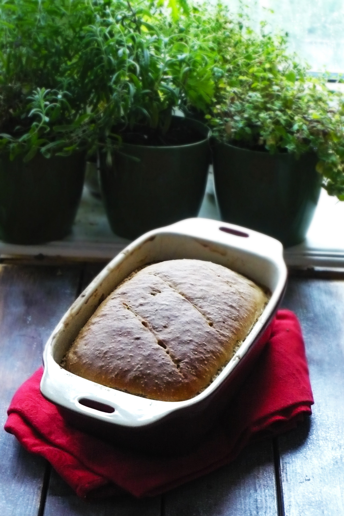 chleb żytni parzony na zakwasie