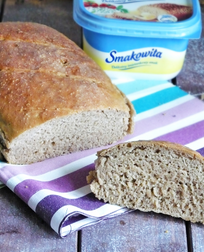 Chleb żytni parzony (na zakwasie)