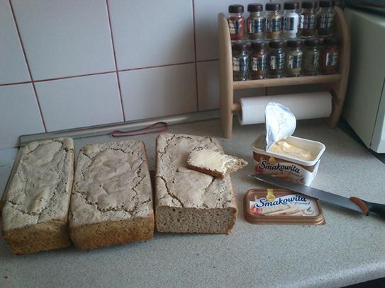 Pan Marek - chleb żytni na zakwasie
