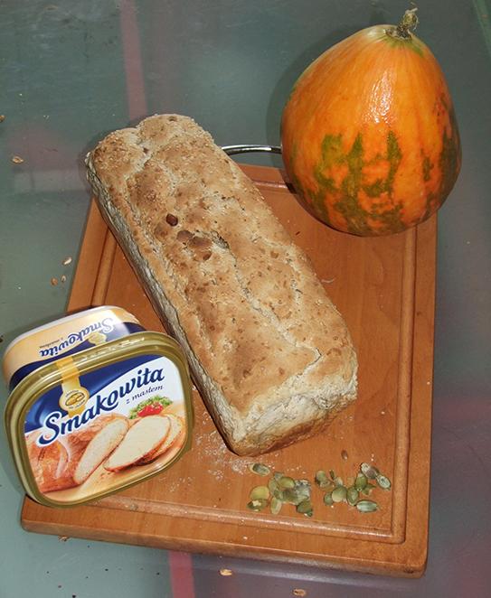 Pani Patrycja -Chleb sezamowy z dynią
