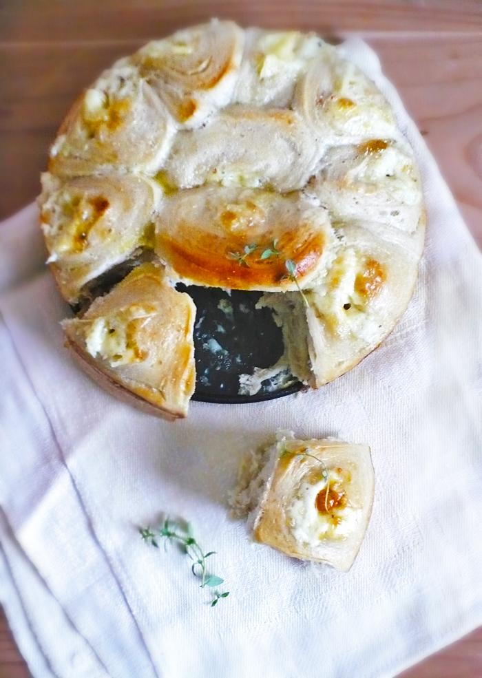 Zawijańce z serem pleśniowym