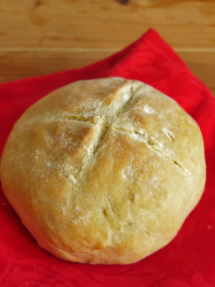 Damper - szybki chlebek z Australii