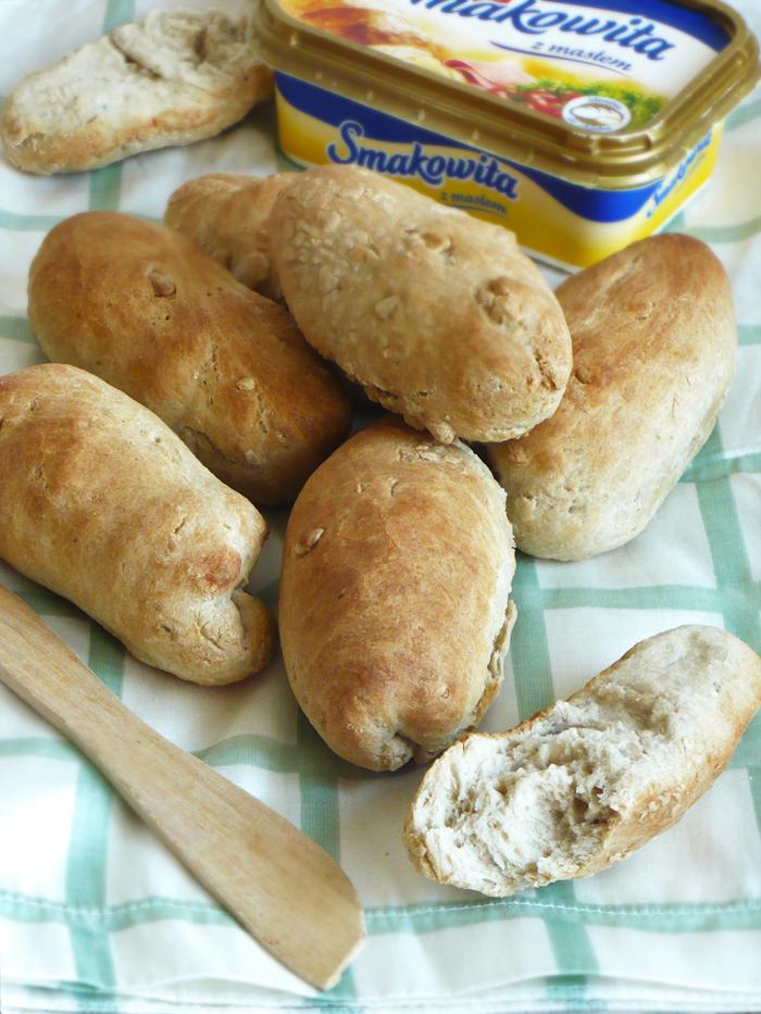 Paluchy pszenno-żytnie na zakwasie