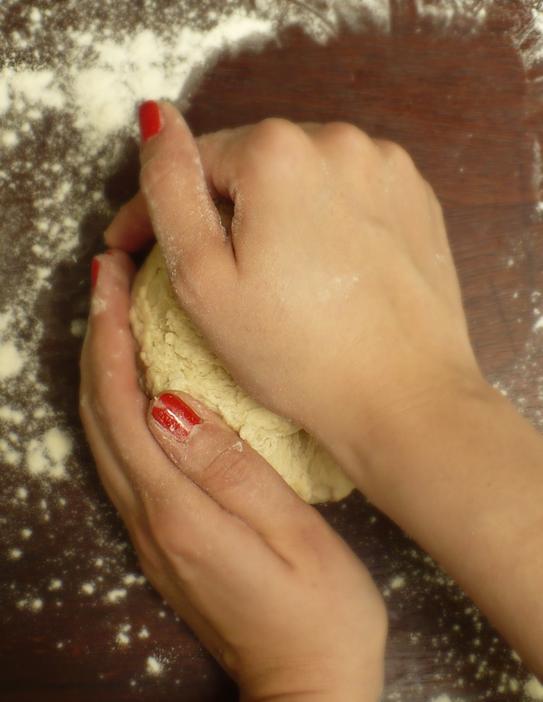 zagniatanie ciasta