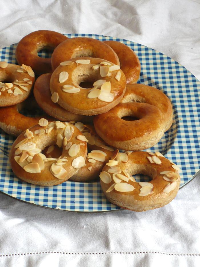Pieczone donuty