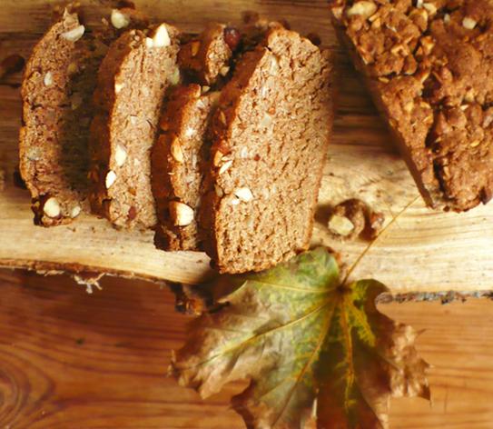 orzechowy chlebek