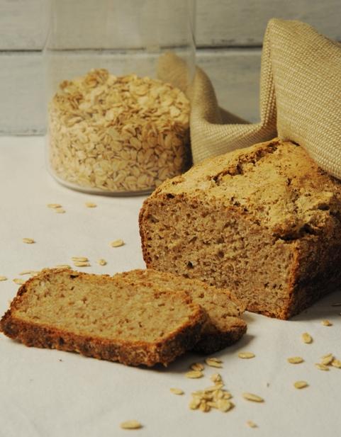 Owsiany chleb na zakwasie