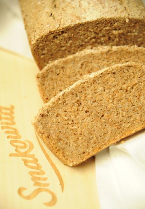 Chleb pszenno-żytni na zakwasie z oliwą z oliwek