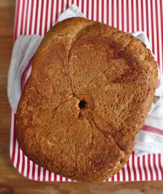chleb z automatu na zakwasie