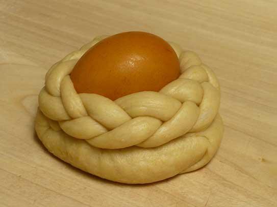 chlebki wielkanocne