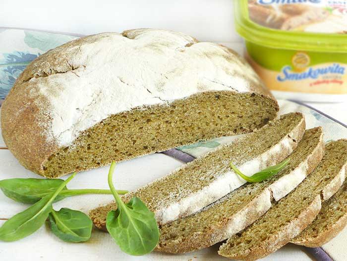 Wiosenny chleb na zakwasie pszennym