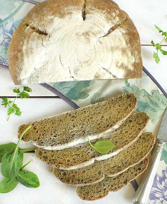 wiosenny chleb na zakwasie