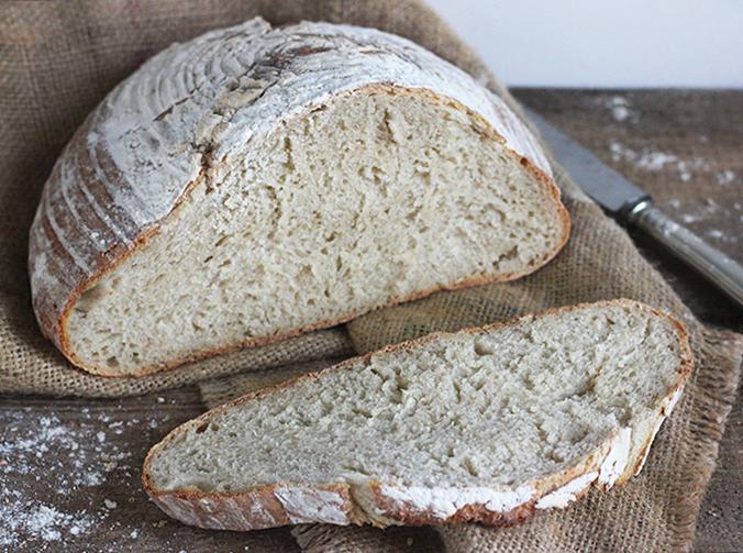 Pagnotta - chleb włoski na zaczynie biga acida
