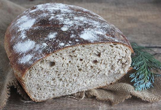 razowy pain au levain