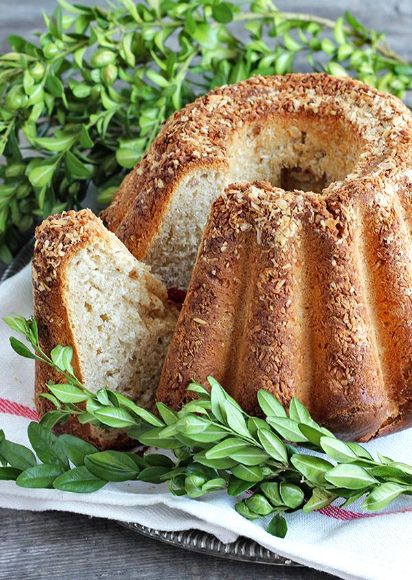 Wielkanocny chlebek na zakwasie