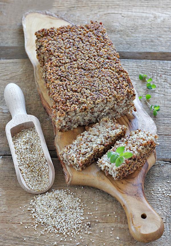 Chleb z kaszy (bez mąki)