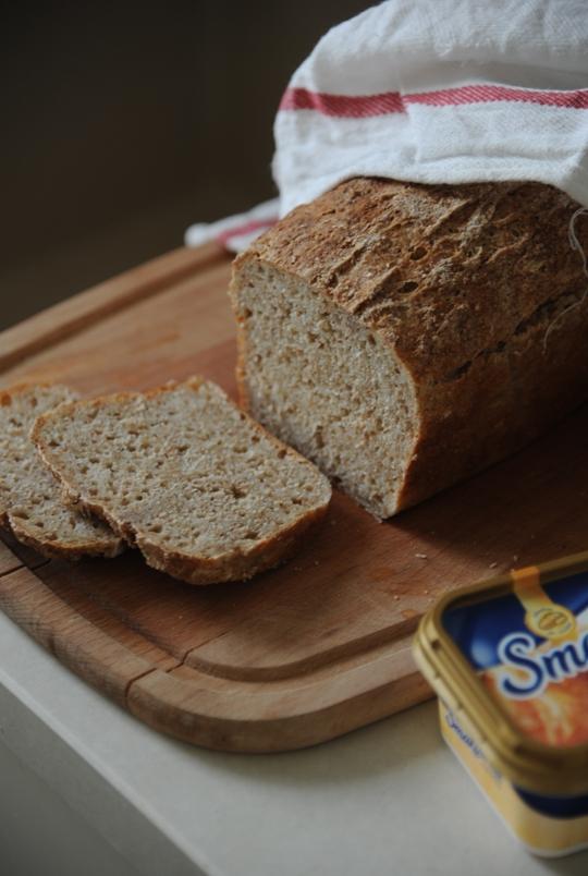 Chleb nocny na kefirze