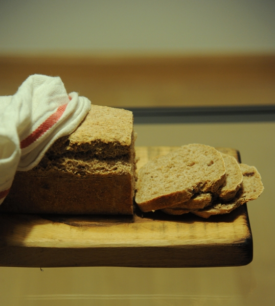 Chleb z sezamem i karmelizowaną cebulą