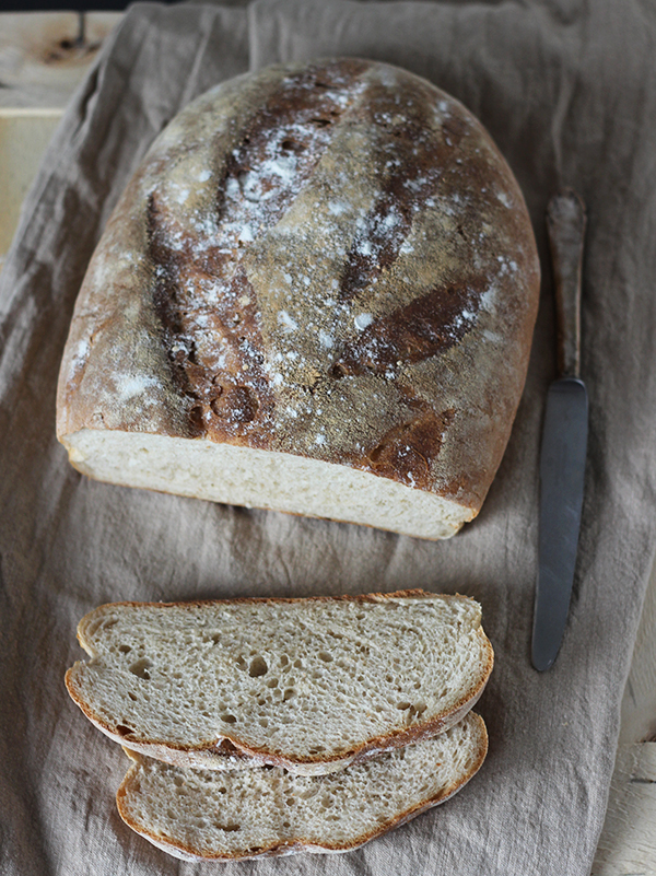 Pan rustico - hiszpański chleb rustykalny