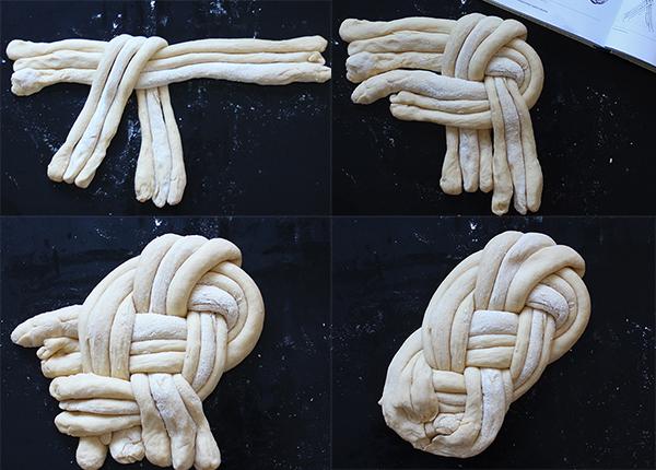 """Chałka """"Winston knot"""""""