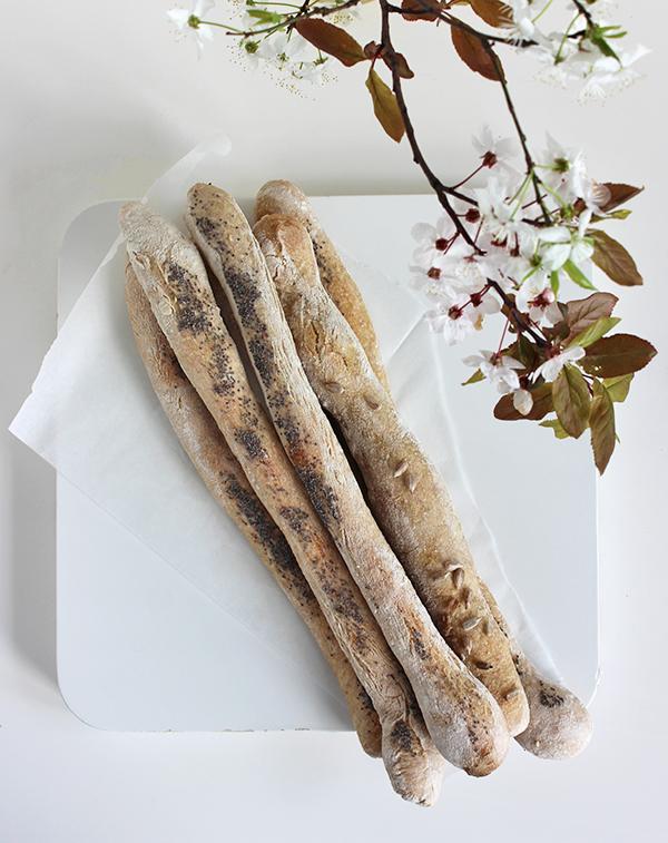 Paluchy chlebowe na zakwasie