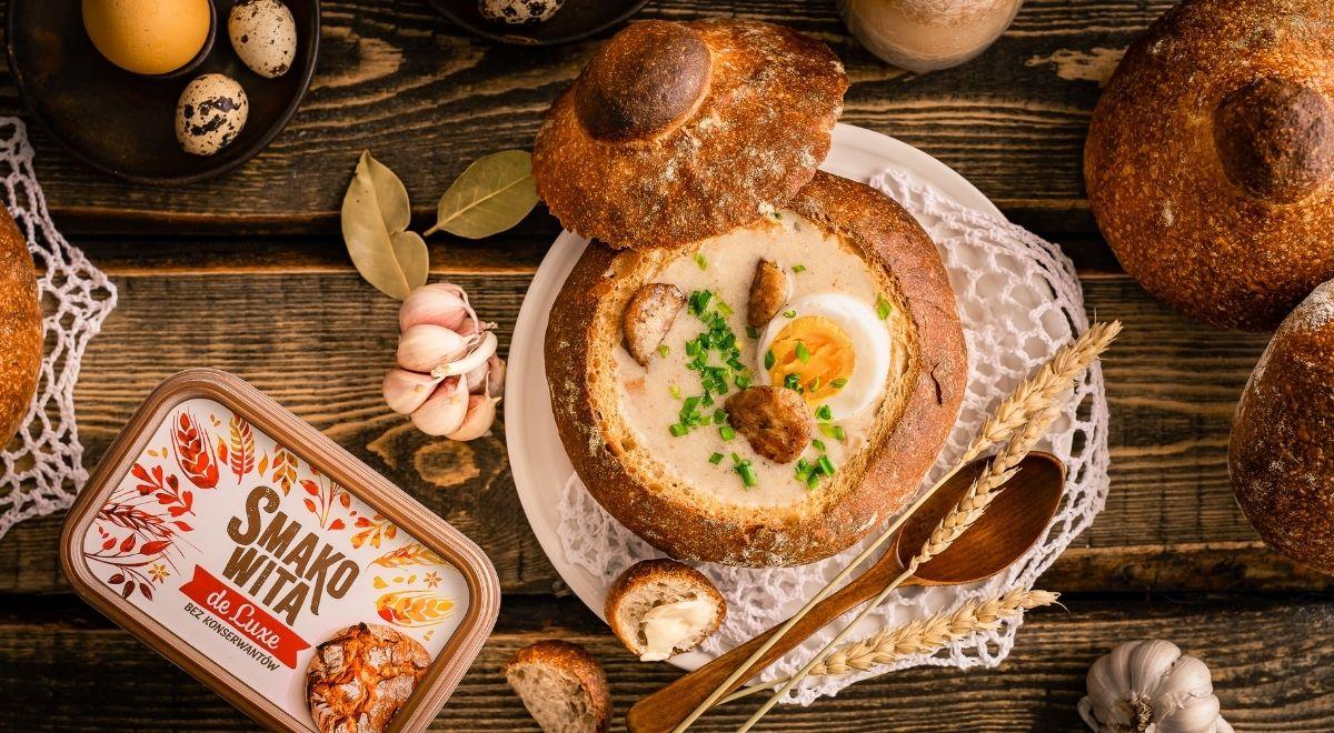 Chleb do żurku na zakwasie