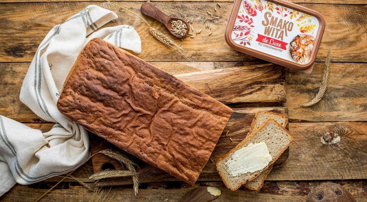 Prosty chleb żytni na zakwasie