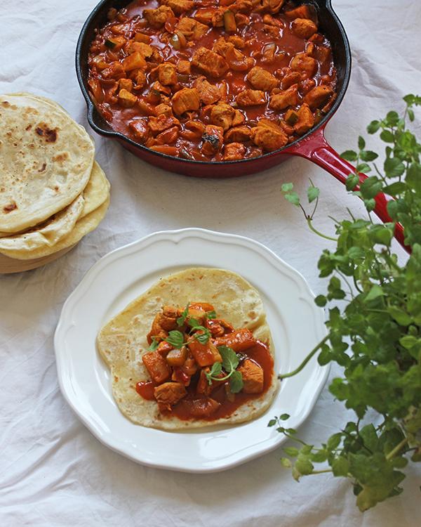 chlebki chapati