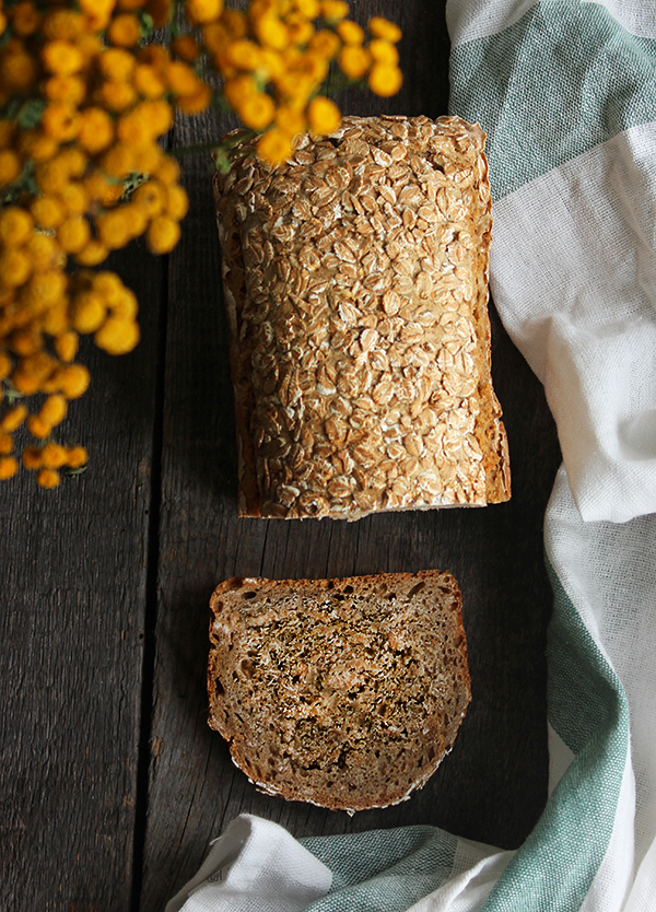 Chleb żytnio-orkiszowy na zakwasie