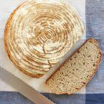 leniwy chleb nocny na zakwasie