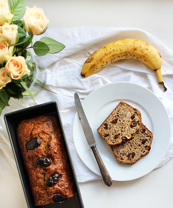 szybki chlebek bananowy