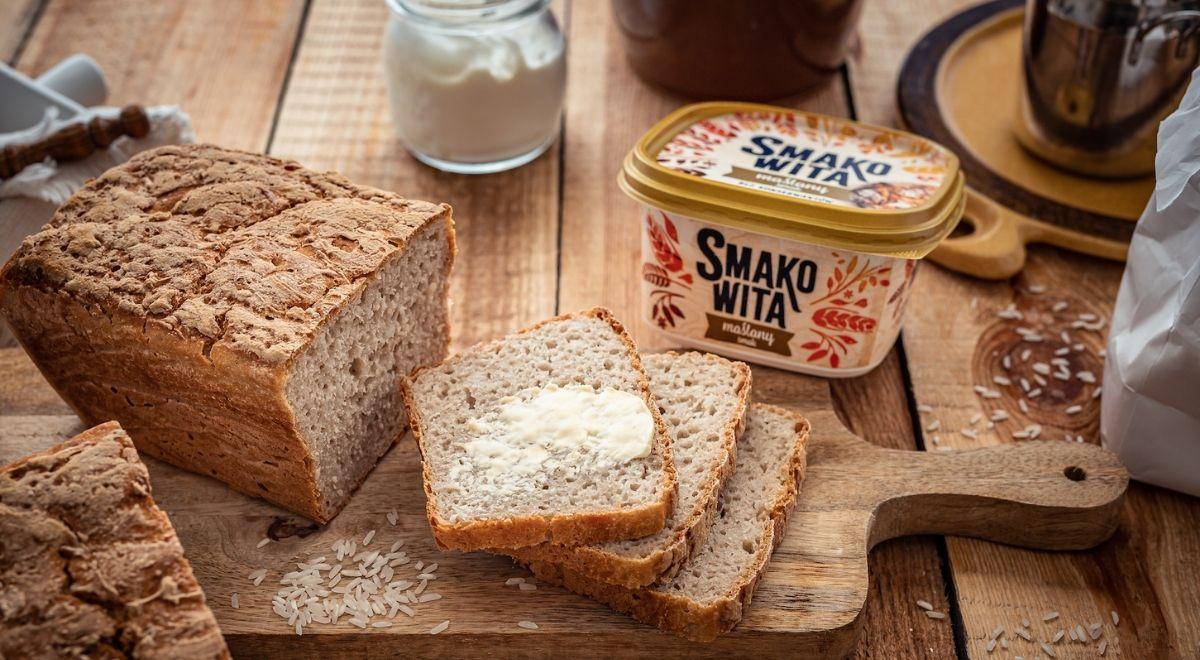 Chleb bezglutenowy na zakwasie ryżowym