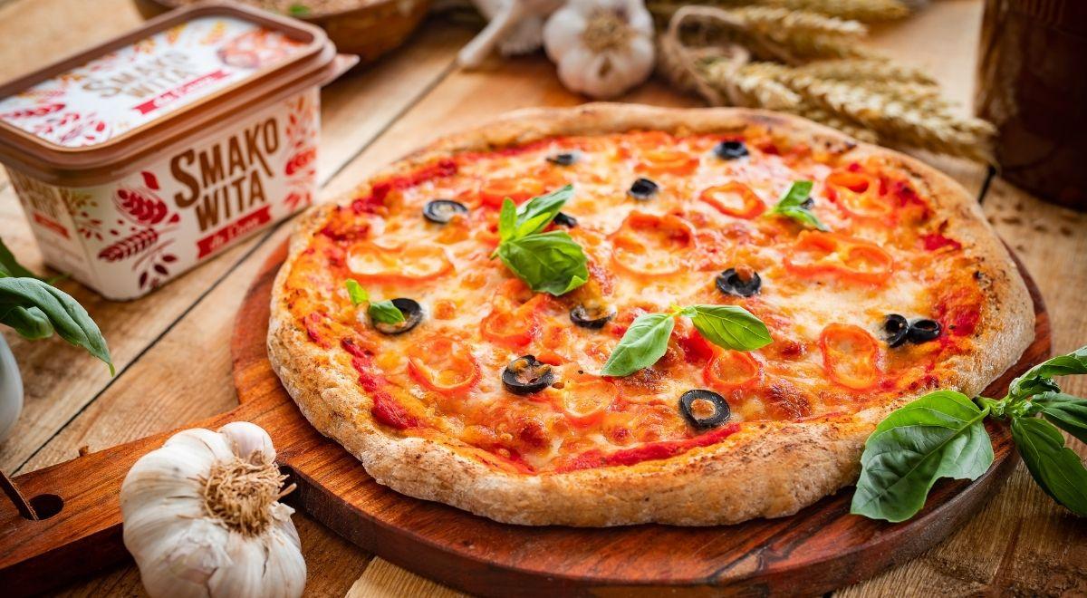 Ciasto na pełnoziarnistą pizzę