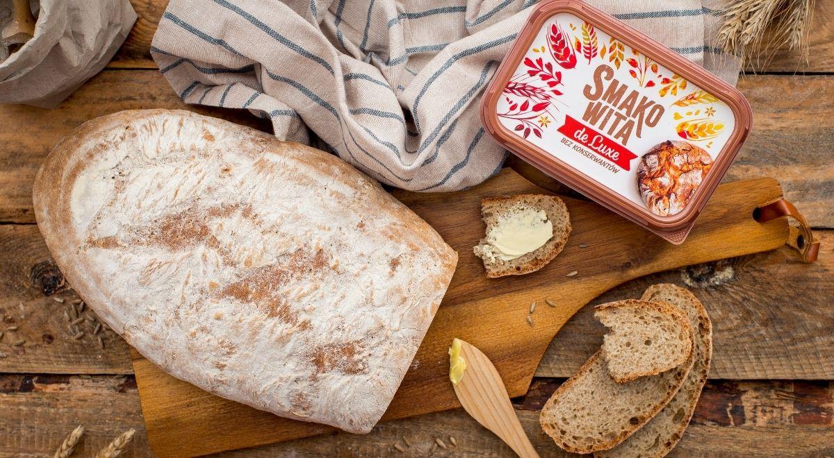 Chleb z kefirem na zakwasie