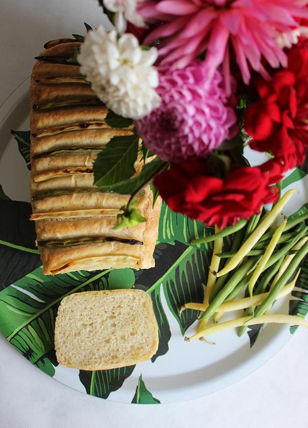 Chleb z fasolką szparagową