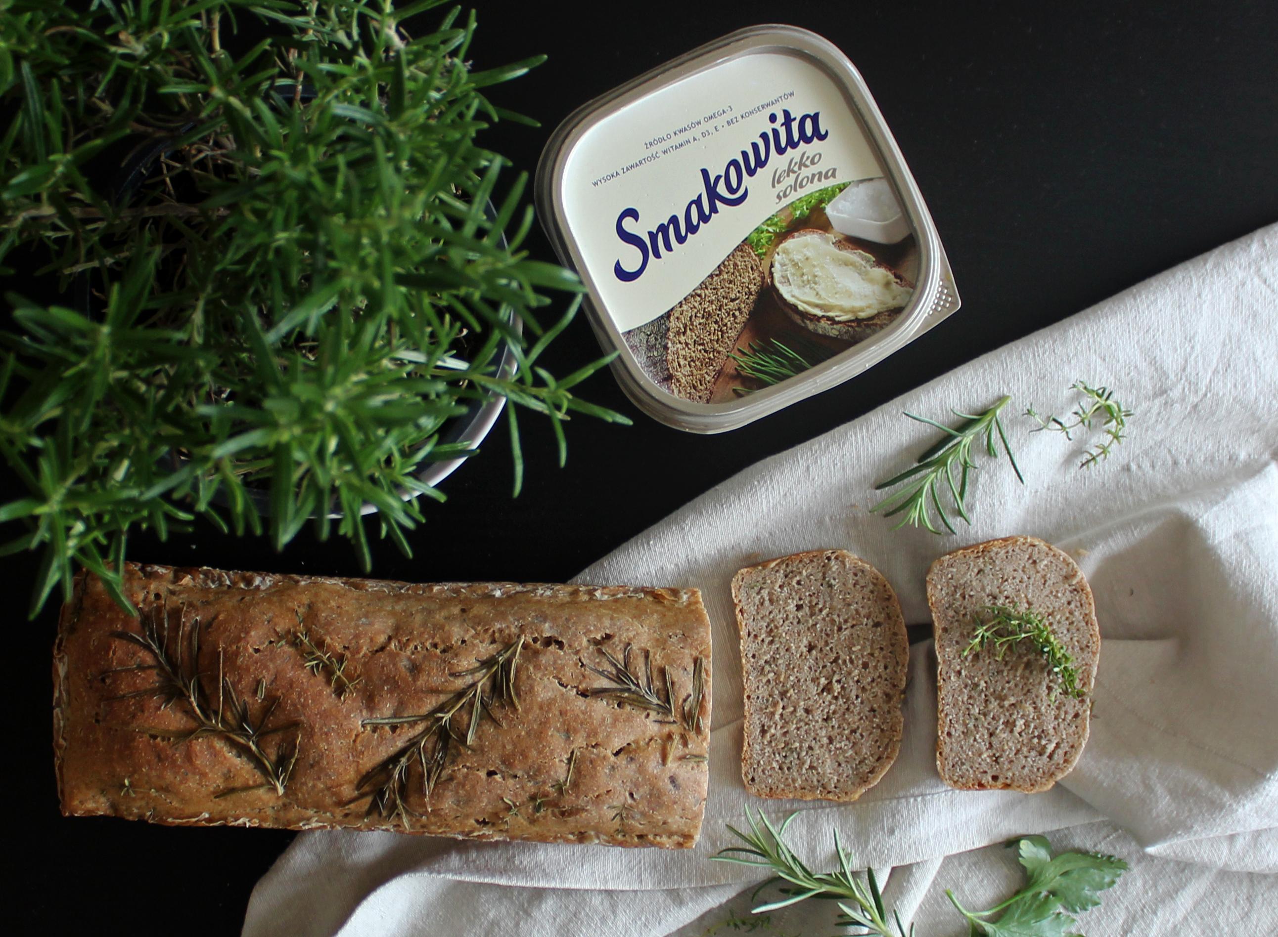 Ziołowy chleb na zakwasie