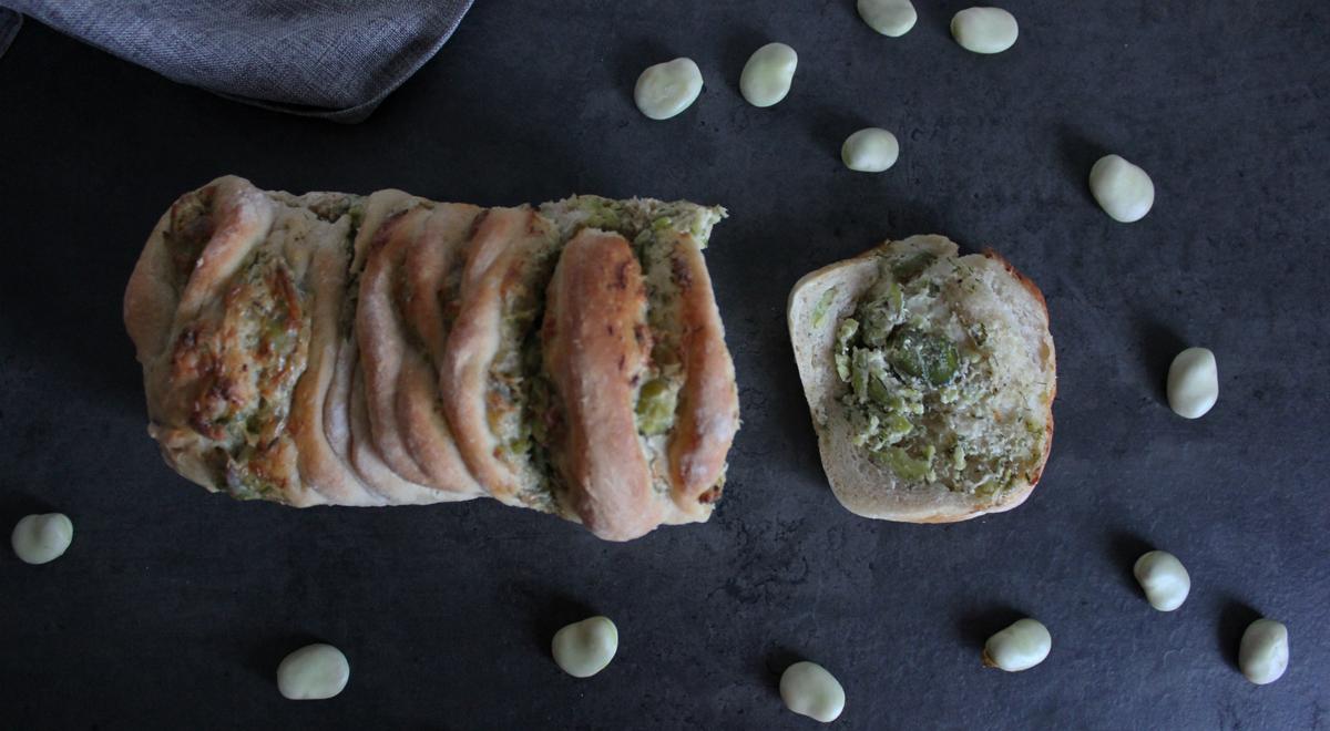 Chleb do odrywania z bobem