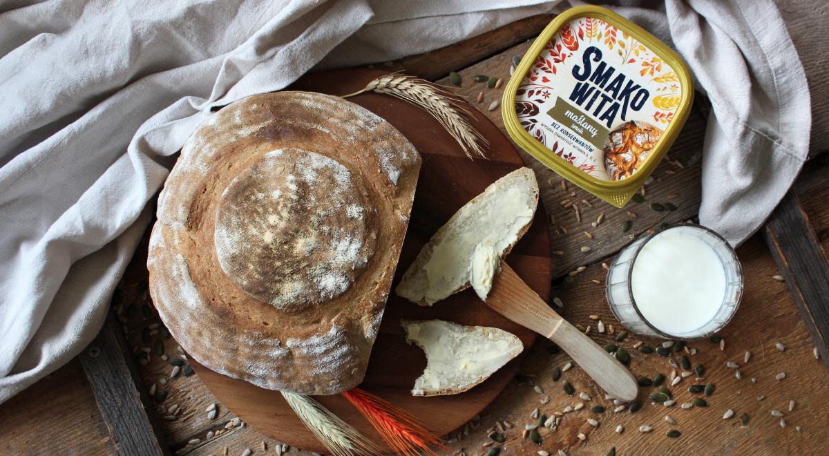 Chleb maślankowy na zakwasie