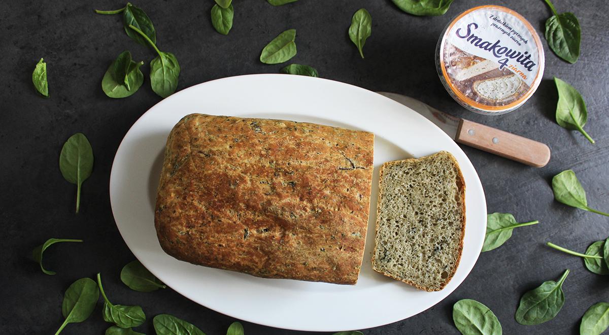 Jogurtowy chleb szpinakowy