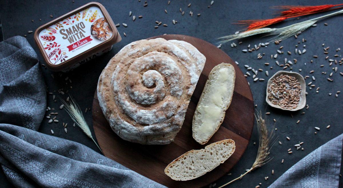 Prosty chleb okrągły