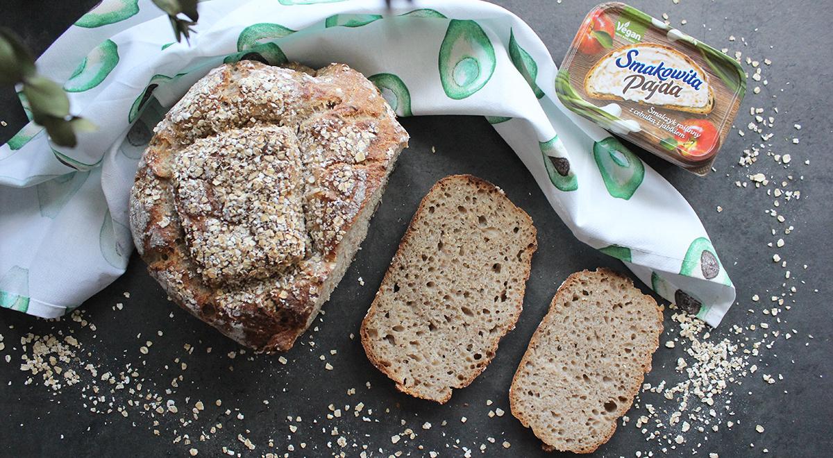 Chleb owsiankowy na zakwasie