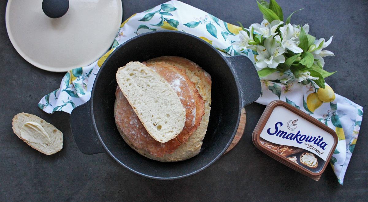 Chleb z garnka (na podmłodzie)