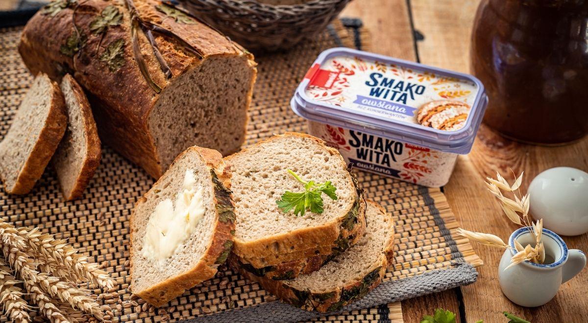 Chleb z ziołami na zakwasie