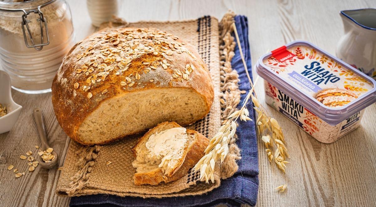 Prosty chleb owsiany